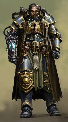 Warhammer 40k - Inquisitor - Ordo Xenos - Power Armor