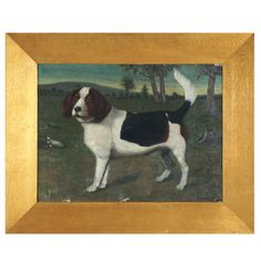19th c Beagle Portrait | From a unique collection of antique and modern animal sculptures at http://www.1stdibs.com/furniture/more-furniture-collectibles/animal-sculptures/