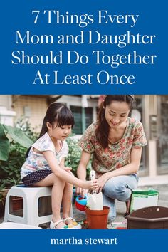 Make your mother-daughter bond stronger with these 7 things to do together at least once. Practical Parenting, Parenting Goals, Parenting Memes, Gentle Parenting, Kids And Parenting, Toddler Humor, Girls Time, At Least, Mom