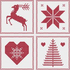 (10) Name: 'Embroidery : Nordic Christmas: Ornament Sampler