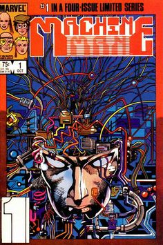 Barry Windsor Smith Cover for Machine Man (1984 series) #1