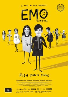 Emo the Musical by Neil Triffett. Berlinale Generation 14plus.  Poster.