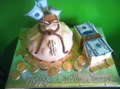 Money My kind of cake