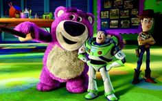 Lotso, Buzz Lightyear and Woody Wallpaper