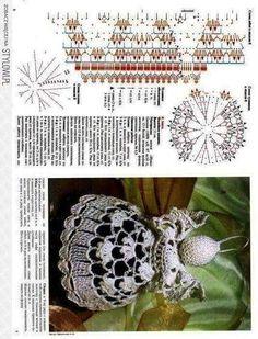 Crochet Christmas Ornaments, Christmas Crochet Patterns, Angel Ornaments, Christmas Crafts, Christmas Decorations, Russian Crochet, Irish Crochet, Angel Protector, Vintage Crochet Patterns