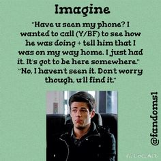 Barry Imagine it's kind of crappy but I loved the pic so...
