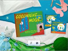 Interactive Children's Book Apps - The 'Goodnight Moon' App Recreates an Iconic Story for Kids (VIDEO)