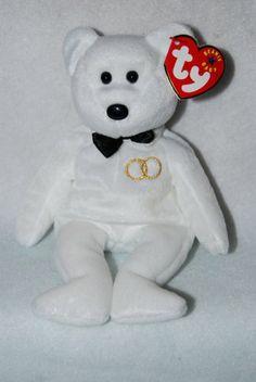 Amazon.com  TY BEANIE Baby MR. the GROOM Bear  Toys   Games 34a721b7d779