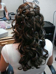 My hair do for my wedding