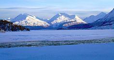 Alaskan mountains. Provided by KRC adjunct Clark Fair. (2/20/12)