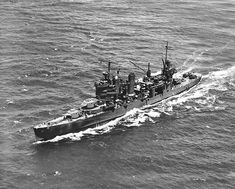 USS Astoria - one of three American heavy cruisers sunk during the Battle of Savo Island in August 1942.