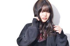 long hair with little long bang called 『UZAbang』