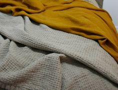 Linen blanket line throw linen summer duvet by mooshop on Etsy