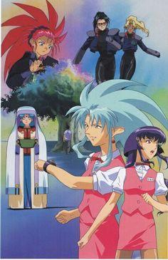 Tenchi Muyo: The Girls of Tenchi's Universe