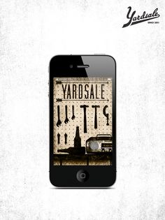 Yardsale app loadscreen   Illustrator: Kyle Anthony Miller