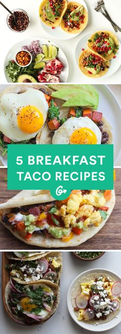 You won't press snooze when you know avocado and eggs wrapped in a tortilla are waiting for you. #breakfast #tacos http://greatist.com/eat/breakfast-tacos-to-spice-up-your-morning
