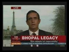 Bhopal Disaster - The Yes Men: a spoof of what Dow's response should be...
