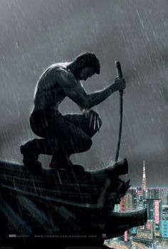 The Wolverine. I have never followed X-Men much, but think I might have to see this. Hugh Jackman...sigh.