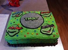 TMNT!!! Love characture cakes..