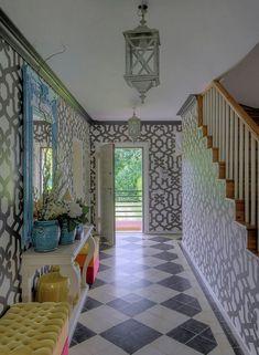 Maria Barros Home Hall ANTES