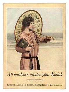 Vintage Ad - Kodak