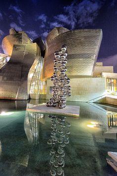 Guggenheim Museum, Bilbao, Spain...architect Frank Gehry...