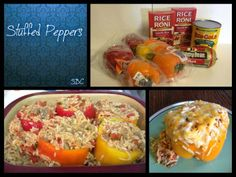 Move it and lose it.: STUFFED PEPPERS