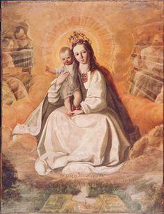 Francisco de Zubaran, Virgin of Mercy, est. 1630-35