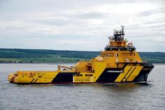 Magne Viking by Konajra, bad ass working tug and service unit to the oil platforms.