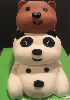 We Bare Bears birthday cake - Cake by T Coleman