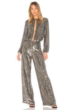 f0d77c855cd1 Alexis x Revolve sequin jumpsuit Silk Romper
