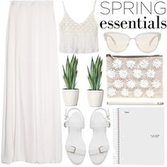 Spring Whiteout - Polyvore Contest by evangeline-lily on Polyvore featuring Temperley London, Zara, ASOS, Oliver Peoples, Kate Spade and springwhiteout