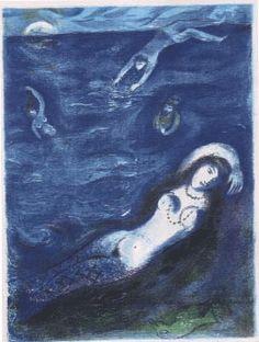 Blue Lady – Marc Chagall
