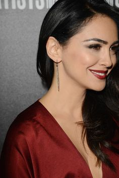 Nazanin Boniadi Photos Photos - Actress Nazanin Boniadi (ear ring details) attends the 7th Annual Hollywood Domino and Bovet 1822 Gala benefiting artists for peace and justice at Sunset Tower on February 27, 2014 in West Hollywood, California. - Hollywood Domino and Bovet 1822 Gala
