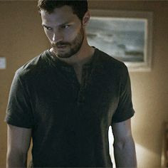 Jamie Dornan. Wow, that look in his eyes! ..i think im going to go take a shower now! Swoon!!