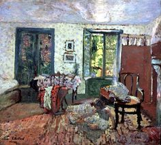 Anette in an Interior - Edouard Vuillard