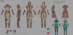 Rawhide Medium Armor | Video Games Artwork
