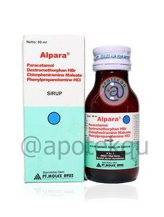 "Alpara Syrup obat flu berat, batuk, hidung berair, demam, sakit kepala, hidung tersumbat, mata berair bersin"" berat Seal, Medicine, Medical, Dolphins, Harbor Seal"