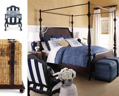 Shop Sag Harbor Bed Linens from Barclay Butera Lifestyle Luxury Bedding at Horchow, where you'll find new lower shipping on hundreds of home furnishings and gifts. Best Office Design, Bedroom Furniture, Bedroom Decor, Bedroom Ideas, Bedroom Inspiration, Navy Furniture, Cherry Furniture, Bedroom Photos, Furniture Design