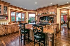 Kitchen   Stunning High Country English-Inspired Home and Horse Farm in Ligonier   Photo Credit: Finite Visual via Christie's International