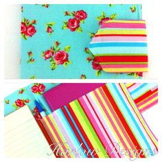 Organiser wallet. Holds diary, pen & notebook Available from: www.facebook.com/HarlowDesigns1