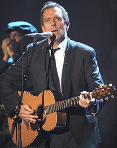 Hugh Laurie, o 'Dr. House', mostra no Brasil seu lado cantor. Foto: Patrick Seeger/Efe
