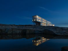 Fogo Island Inn - Watch out for Amazing Hotels – Life beyond the Lobby on TVNZ 1 tomorrow night (Wednesday!     Stunning Hotel in an unbelievable environment.       Fogo Island Inn is a social business and a community asset. 100% of operating surpluses are reinvested in the community through the initiatives of Shorefast, a registered Canadian charity with the mandate to help secure a resilient cultural and economic future for Fogo Island.     For more info…