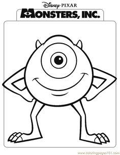 monster university  sd character  Pinterest  Monsters and