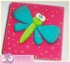 libelulas en foami - Buscar con Google Mariposa Butterfly, Ideas Para, Decoupage, Origami, Envelope, Notebook, Wall Decor, Scrapbook, Education