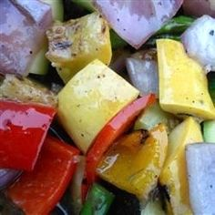 """Grilled Vegetable Salad 