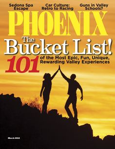 March 2013: The Bucket List