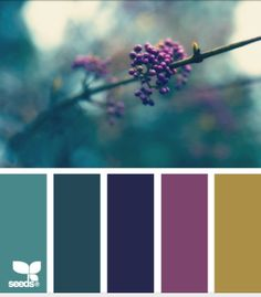 Plum and Teal ~ palette