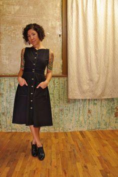 the black sheet dress by fieldday