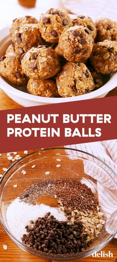 FINALLY a protein ball that does not taste extremely artificial - Food - Protein Ideas High Protein Snacks, Protein Dinner, High Protein Recipes, Protein Foods, Healthy Recipes, Protein Deserts, Snack Recipes, Flour Recipes, Crockpot Recipes